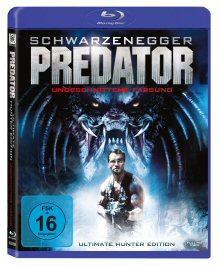 Predator (Ultimate Hunter Edition, Uncut) (1987) [Blu-ray]