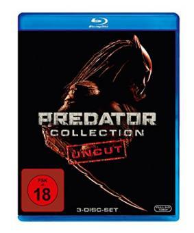 Predator Collection: 1-3 (3 Discs, Uncut) [FSK 18] [Blu-ray]