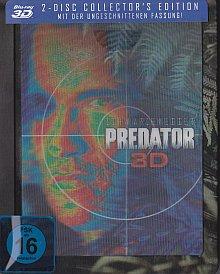 Predator (2 Disc Limited Exklusiv Steelbook 2D+3D mit Lenticular) (1987) [3D Blu-ray]