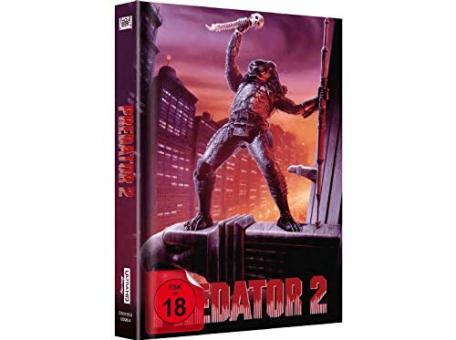 Predator 2 (Limited Mediabook, 4K Ultra HD+Blu-ray, Cover C) (1990) [FSK 18] [4K Ultra HD]