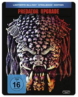 Predator - Upgrade (Limited Steelbook) (2018) [Blu-ray]