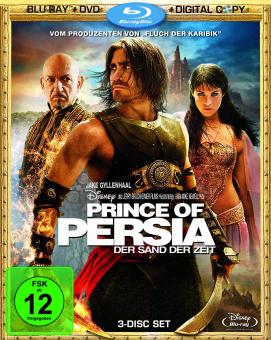Prince of Persia: Der Sand der Zeit (plus DVD + Digital Copy, 3 Disc Set) (2009) [Blu-ray]