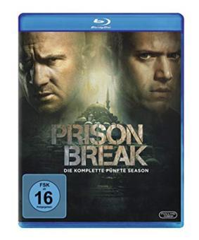 Prison Break - Die komplette Season 5 (3 Discs) [Blu-ray]