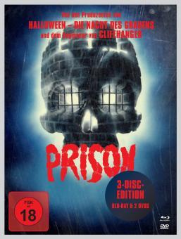 Prison (Limited Uncut Mediabook, Blu-ray+2 DVDs) (1988) [FSK 18] [Blu-ray]