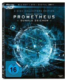 Prometheus (+ Blu-ray + DVD + Digital Copy) (Collector's Edition) (2012) [3D Blu-ray]