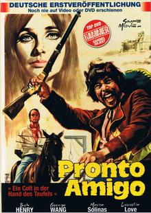 Pronto, Amigo -  Ein Colt in der Hand des Teufels (Kleine Hartbox, Cover A) (1967) [FSK 18] [Gebraucht - Zustand (Sehr Gut)]