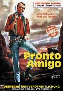 Pronto, Amigo -  Ein Colt in der Hand des Teufels (Kleine Hartbox, Cover B) (1967) [FSK 18] [Gebraucht - Zustand (Sehr Gut)]