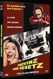 Provinz ohne Gesetz (Limited Mediabook, Blu-ray+DVD, Cover A) (1978) [FSK 18] [Blu-ray]