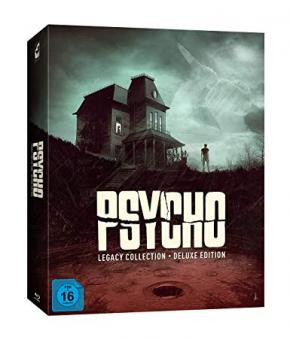 Psycho Legacy Box (Limited Deluxe Edition, 8 Discs) [Blu-ray]