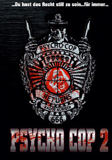 Psycho Cop 2 (Limited Mediabook, Blu-ray+DVD, Cover C) (1993) [FSK 18] [Blu-ray]