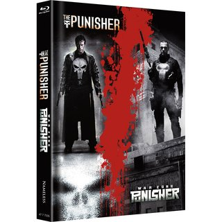 Punisher (Limited Mediabook, Double Feature, 2 Discs) [FSK 18] [Blu-ray]