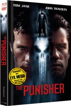 The Punisher (Extended Cut, Limited Mediabook, Blu-ray+DVD, Cover E) (2004) [FSK 18] [Blu-ray]
