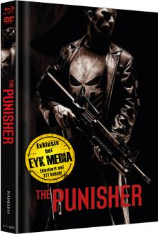 The Punisher (Extended Cut, Limited Mediabook, Blu-ray+DVD, Cover F) (2004) [FSK 18] [Blu-ray]