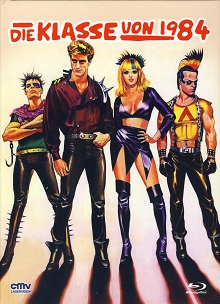 Die Klasse von 1984 (Limited Mediabook, Blu-ray+DVD, Cover A) (1982) [FSK 18] [Blu-ray]