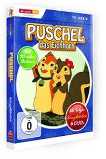 Puschel, das Eichhorn - Komplettbox (6 DVDs)