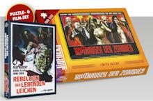 Die Rebellion der lebenden Leichen (Blutrausch der Zombies) (Limited Edition, Blu-ray+DVD, Puzzle Edition) (1972) [FSK 18] [Blu-ray]