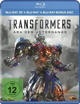 Transformers 4: Ära des Untergangs (3D Blu-ray+Blu-ray+Bonus Disc) (2014) [3D Blu-ray]