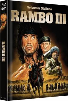 Rambo 3 (Limited Mediabook, Blu-ray+DVD, Cover B) (1988) [FSK 18] [Blu-ray]