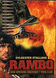Rambo - Special Edition (Teil 1-3, 3 DVDs, Uncut, Erstauflage) [FSK 18] [Gebraucht - Zustand (Sehr Gut)]