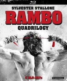 Rambo Quadrilogy: Rambo 1 - 4 (Uncut, 4 Discs) [FSK 18] [Blu-ray]