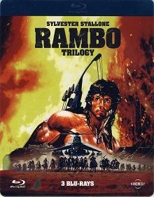 Rambo Trilogy (3 Blu-ray Discs, Steelbook-Uncut) [FSK 18] [Blu-ray]