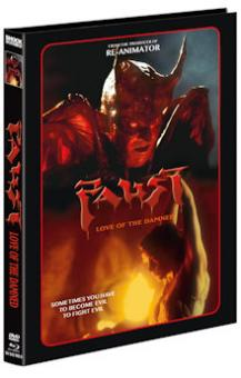 Faust: Love of the Damned (Limited Mediabook, Blu-ray+DVD, Cover D) (2000) [FSK 18] [Blu-ray]