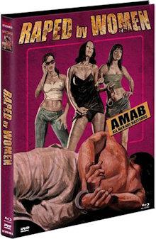 Raped by Women (Limited Mediabook, Blu-ray+DVD, Cover A) (2014) [FSK 18] [Blu-ray]