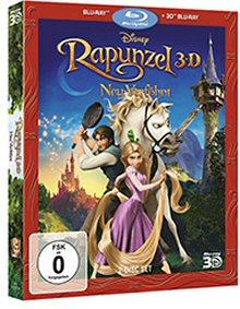 Rapunzel - Neu verföhnt (3D Blu-ray+Blu-ray) (2 Discs) (2010) [3D Blu-ray]