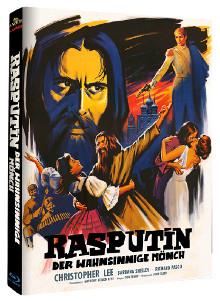 Rasputin - Der wahnsinnige Mönch (Limited Mediabook, Cover A) (1966) [Blu-ray]