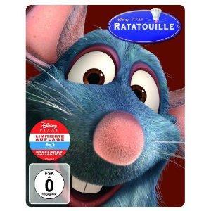 Ratatouille (Limited Edition, Steelbook) (2007) [Blu-ray]