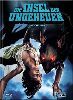 Die Insel der Ungeheuer (Limited Mediabook, Blu-ray+DVD, Cover C) (1976) [Blu-ray]