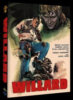 Willard (Limited Mediabook, Cover B) (1971) [Blu-ray] [Gebraucht - Zustand (Sehr Gut)]