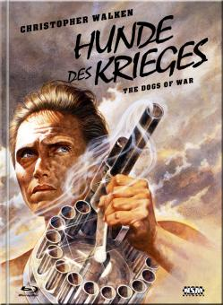 Die Hunde des Krieges (Limited Mediabook, Blu-ray+DVD, Cover E) (1980) [Blu-ray]