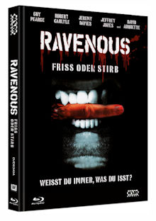 Ravenous - Friss oder stirb (Limited Mediabook, Blu-ray+DVD, Cover A) (1999) [FSK 18] [Blu-ray]