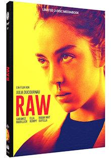 Raw (Limited Mediabook, Blu-ray+DVD, Cover B) (2016) [Blu-ray]