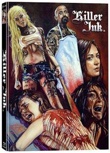 Killer Ink - Dein erstes Tattoo wirst Du nie vergessen (Limited Mediabook, Blu-ray+DVD, Cover B) (2015) [FSK 18] [Blu-ray] [Gebraucht - Zustand (Sehr Gut)]