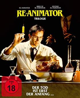 Re-Animator 1-3 (Digipak, 3 Discs) [FSK 18] [Blu-ray]