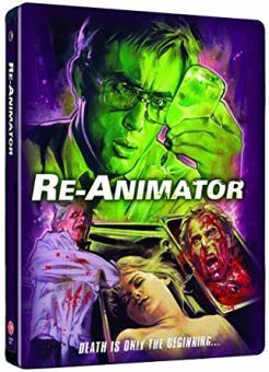 Re-Animator (2-Disc Limited Steelbook) (1985) [FSK 18] [UK Import] [Blu-ray]