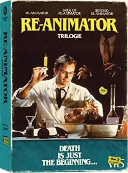 Re-Animator 1-3 (Limited Collector's Edition im VHS-Design, 4 Discs) [FSK 18] [Blu-ray]