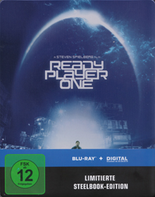 Ready Player One (Limited Steelbook) (2018) [Blu-ray]