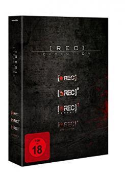 [Rec] 1-4 (Evolution Box, 4 DVDs) [FSK 18]