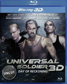 Universal Soldier - Day of Reckoning (Uncut) (2012) [FSK 18] [3D Blu-ray]