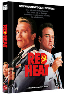 Red Heat (Limited Mediabook, Blu-ray+DVD, Cover A) (1988) [FSK 18] [Blu-ray]