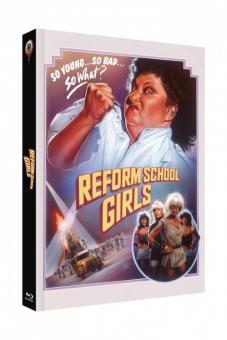 Reform School Girls (Limited Mediabook, Blu-ray+DVD, Cover A) (1986) [FSK 18] [Blu-ray]