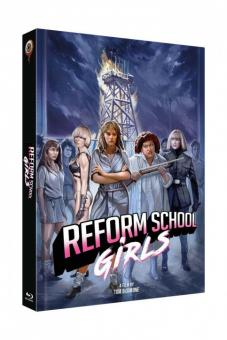 Reform School Girls (Limited Mediabook, Blu-ray+DVD, Cover C) (1986) [FSK 18] [Blu-ray]