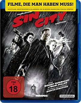 Sin City (2005) [FSK 18] [Blu-ray]