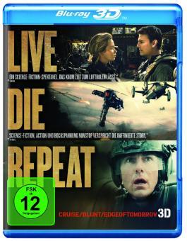 Edge of Tomorrow - Live.Die.Repeat (Blu-ray+3D Blu-ray) (2014) [3D Blu-ray]