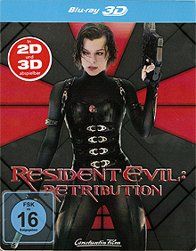Resident Evil: Retribution (Steelbook) (2012) [3D Blu-ray]