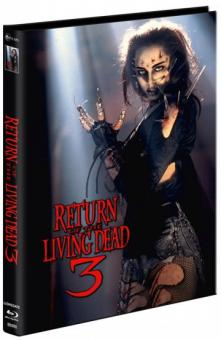 Return of the Living Dead 3 (Limited Mediabook, Blu-ray+2 DVDs, Cover D) (1993) [FSK 18] [Blu-ray]