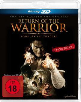 Return of the Warrior - Uncut Edition (2013) [FSK 18] [3D Blu-ray]